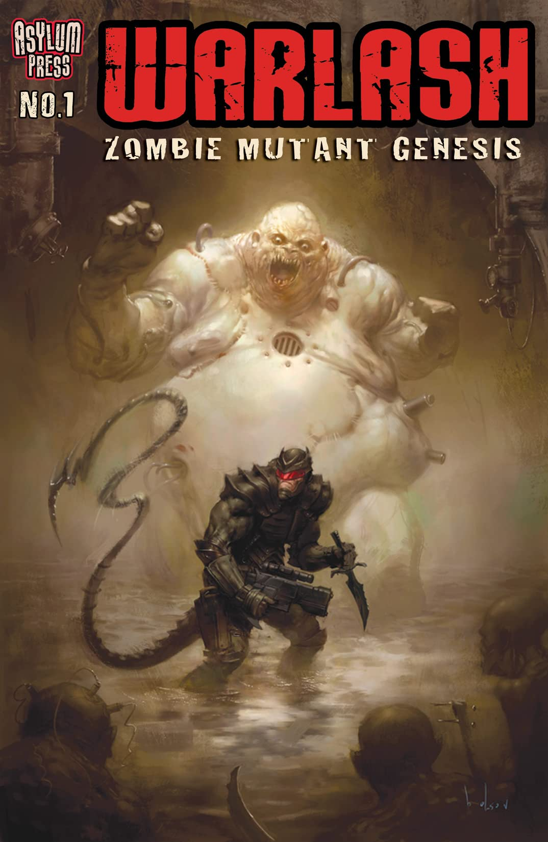 Warlash: Zombie Mutant Genesis #1 (of 3)
