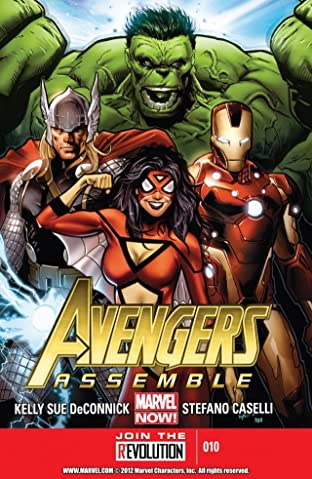 Avengers Assemble No.10