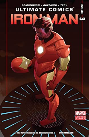 Ultimate Comics Iron Man #3 (of 4)