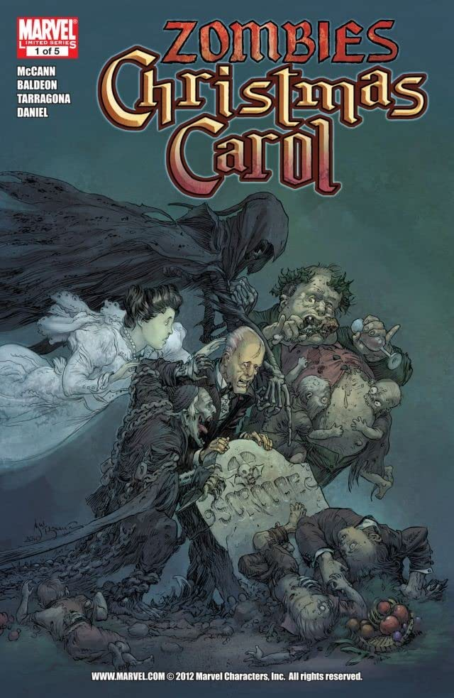 Marvel's Zombies Christmas Carol #1 (of 5)