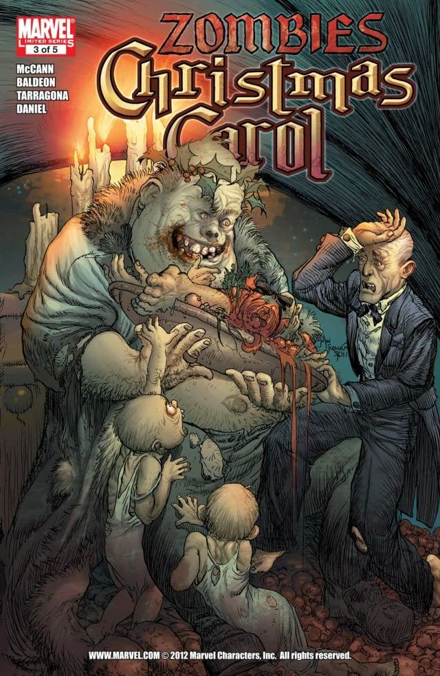 Marvel Zombies Christmas Carol #3 (of 5)