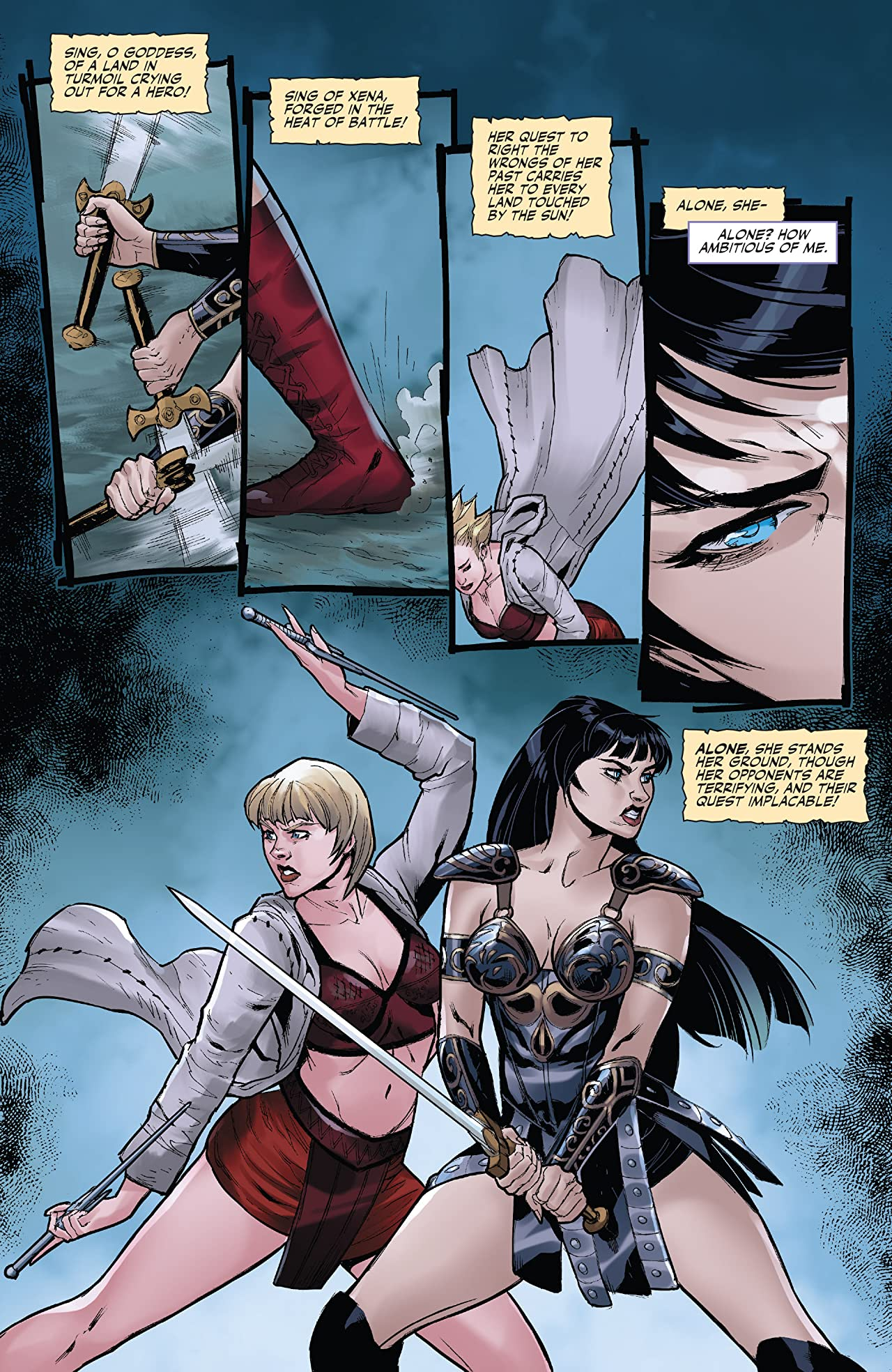 Xena: Warrior Princess (2016) #2: Digital Exclusive Edition