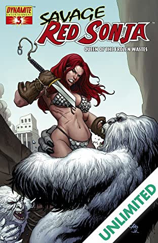 Red Sonja: Queen Of The Frozen Wastes #3