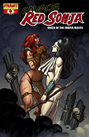 Red Sonja: Queen Of The Frozen Wastes #4