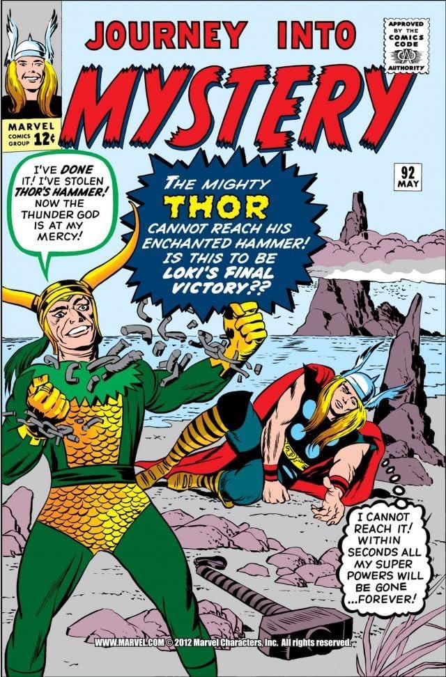 Journey Into Mystery (1952-1966) #92