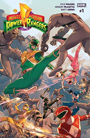 Mighty Morphin Power Rangers No.1
