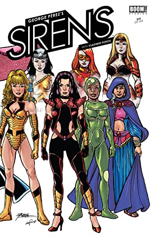 George Perez's Sirens #6 (of 6)
