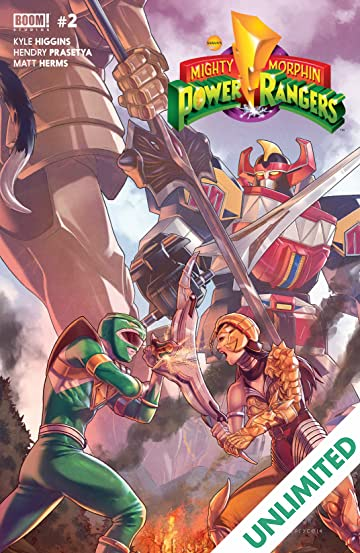 Mighty Morphin Power Rangers #2