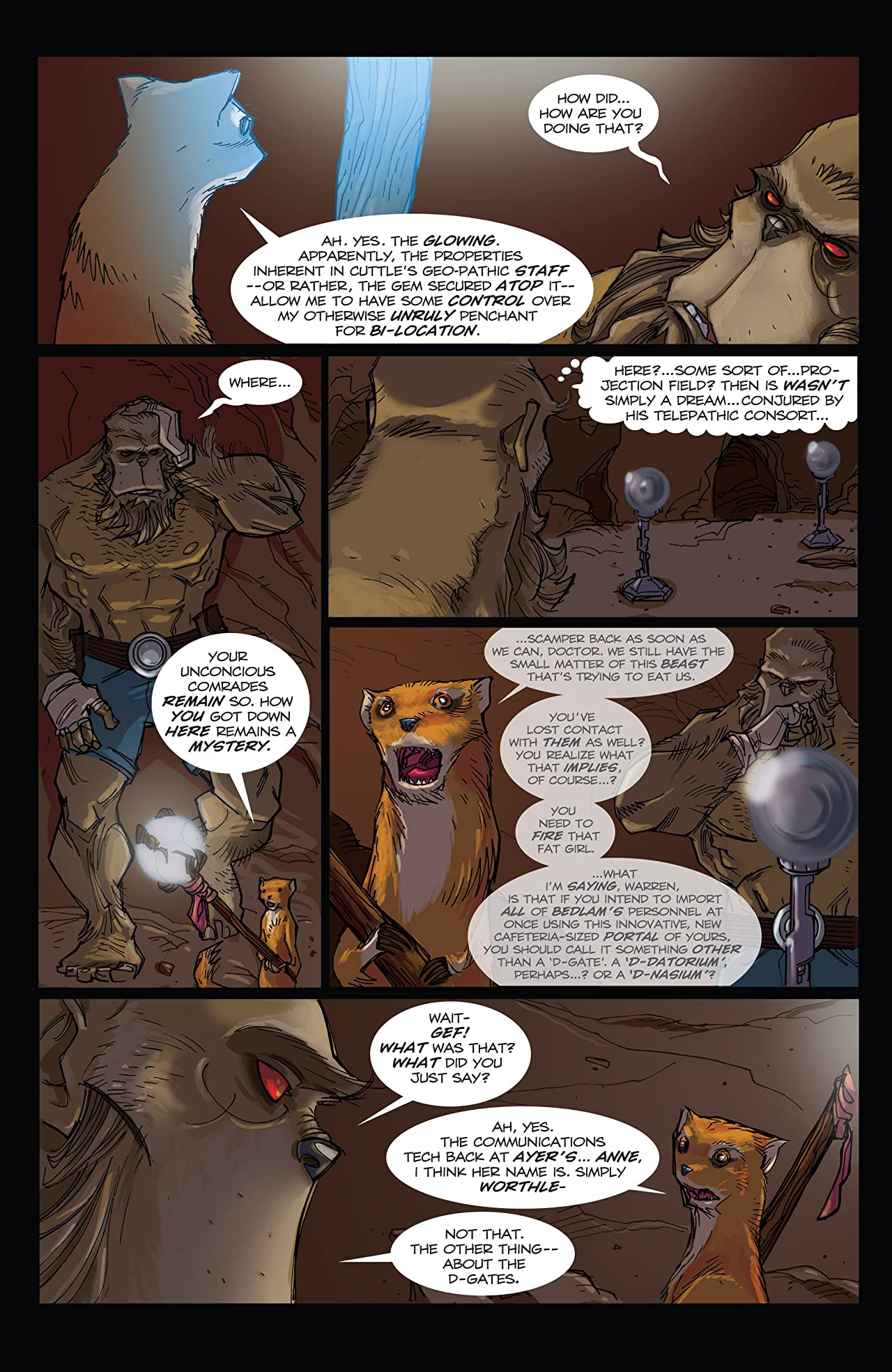 Perhapanauts: Danger Down Under #4 (of 5)