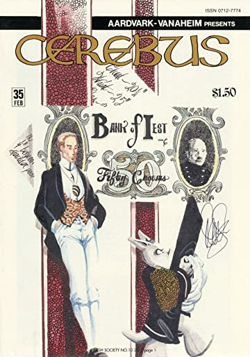 Cerebus Vol. 2 #10: High Society