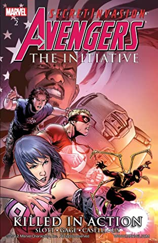 Avengers: The Initiative Tome 2: Killed In Action