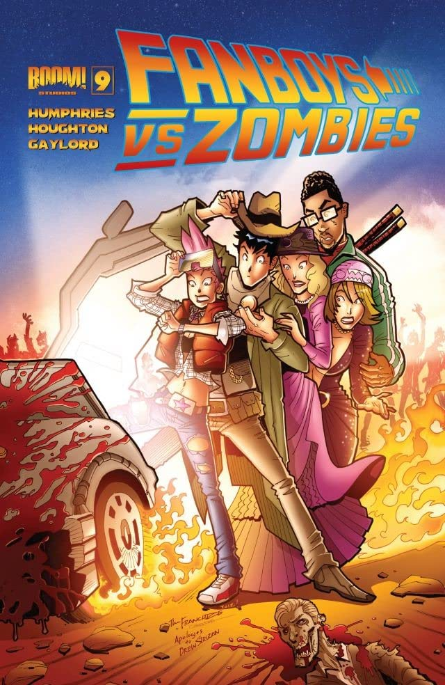 Fanboys vs. Zombies #9