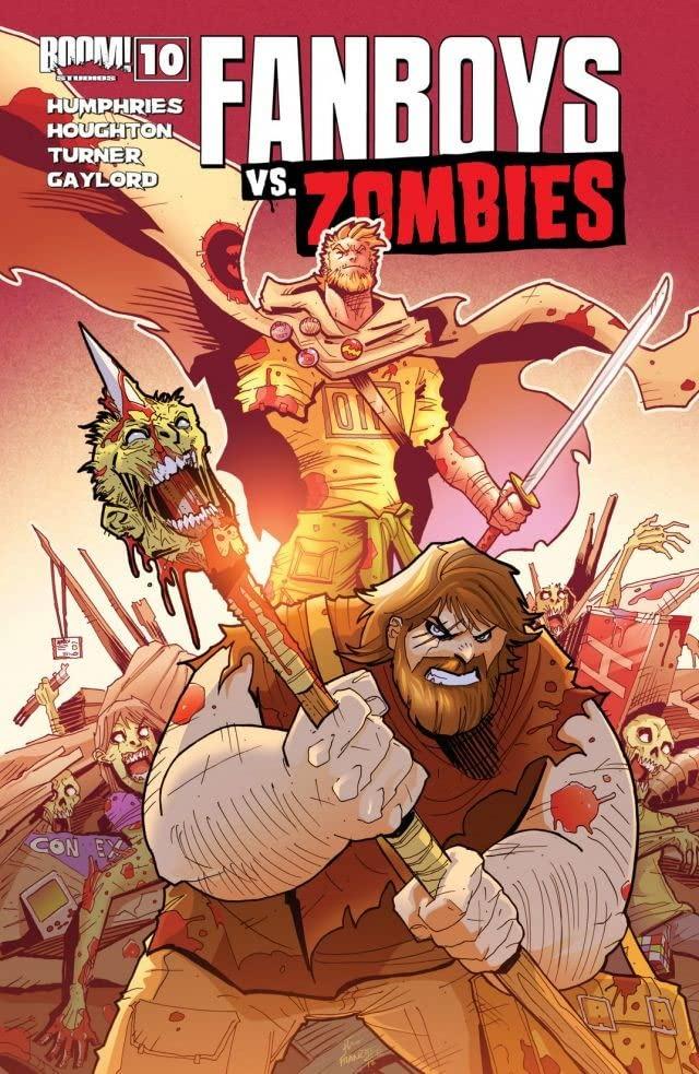 Fanboys vs. Zombies #10