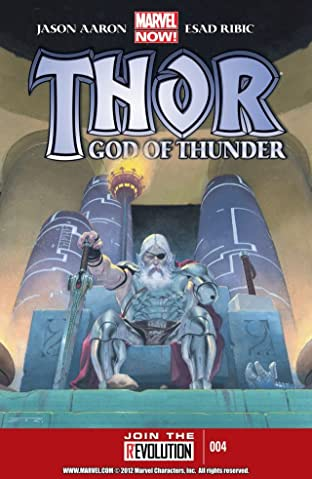 Thor: God of Thunder No.4
