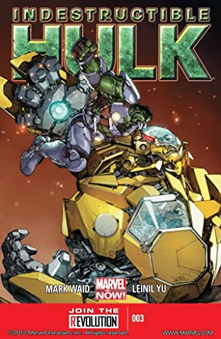 Indestructible Hulk No.3