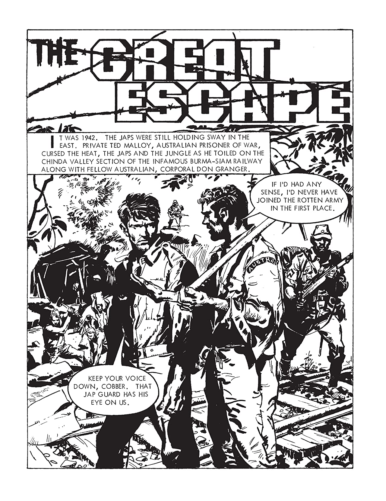 Commando #4896: The Great Escape