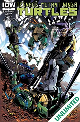Teenage Mutant Ninja Turtles #17