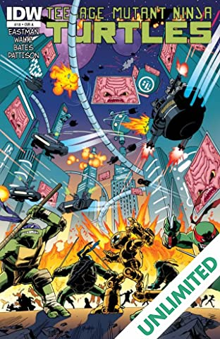 Teenage Mutant Ninja Turtles #18