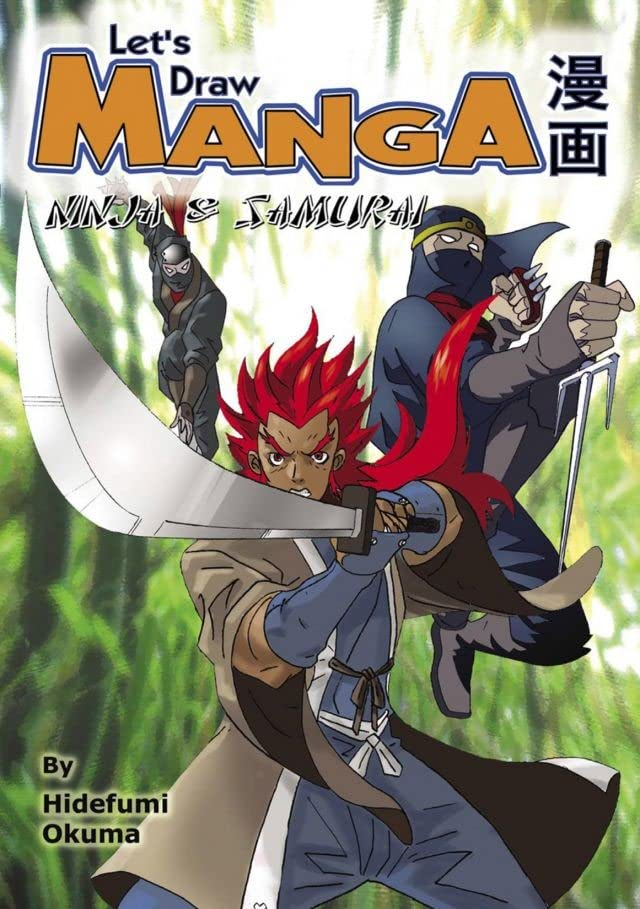 Let's Draw Manga: Ninja & Samurai Preview