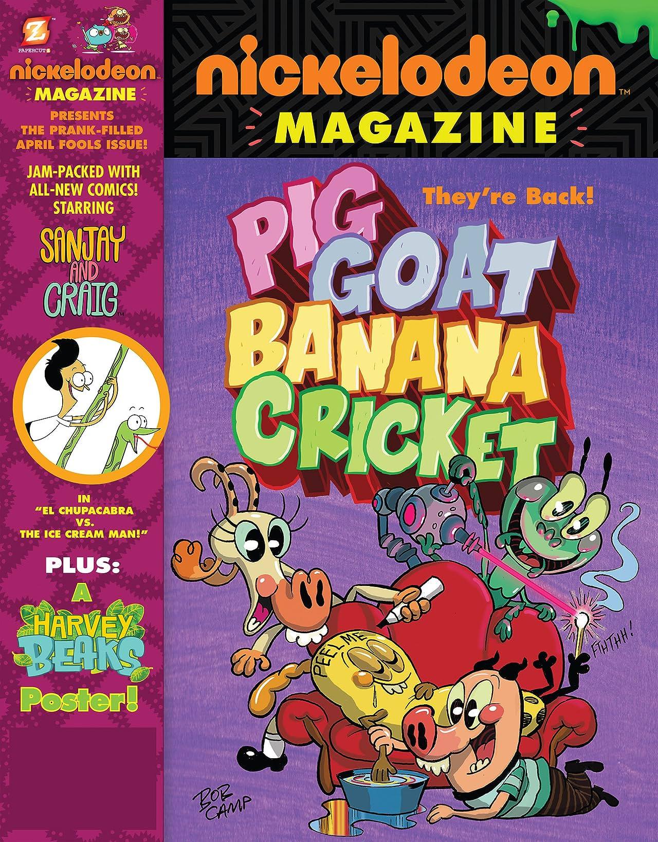 Nickelodeon Magazine #10
