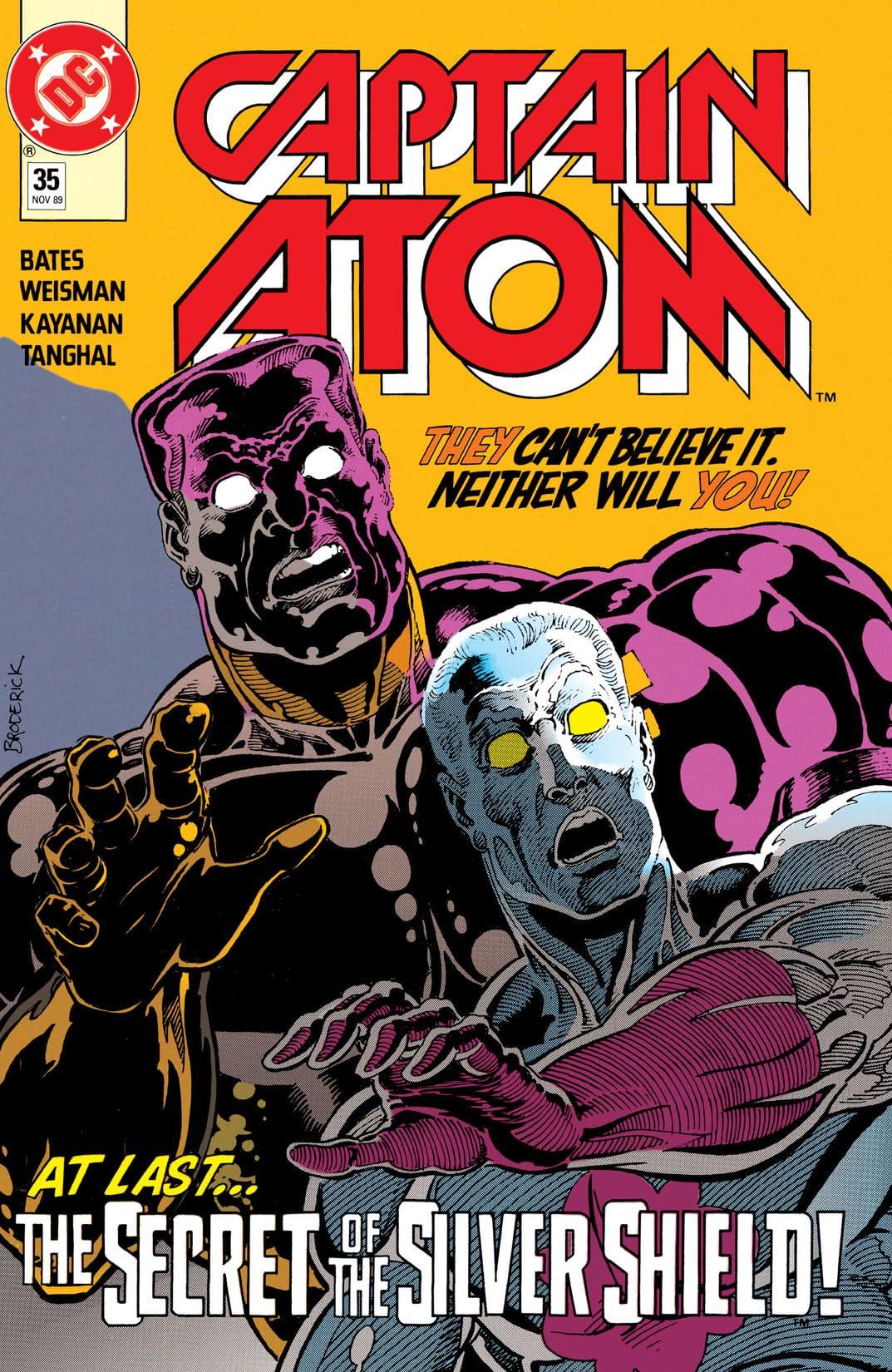 Captain Atom (1986-1991) #35