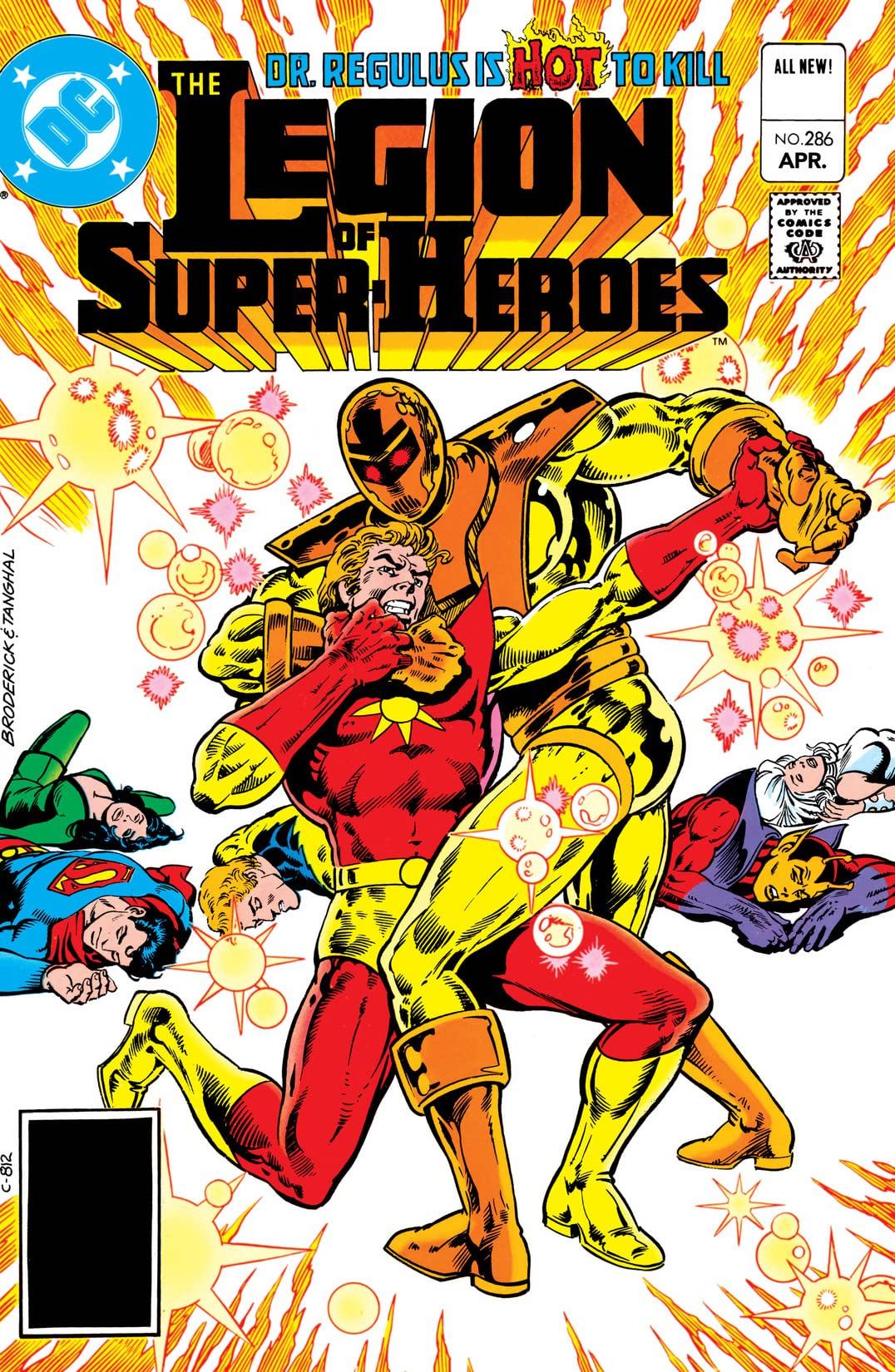 Legion of Super-Heroes (1980-1985) #286