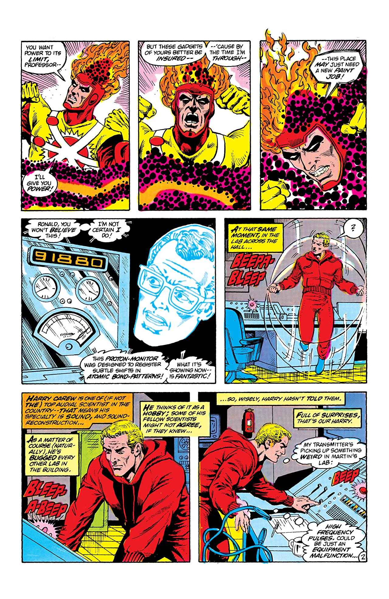 The Fury of Firestorm (1982-1990) #8
