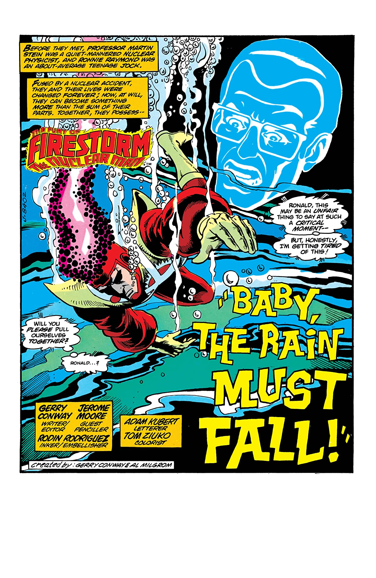 The Fury of Firestorm (1982-1990) #9