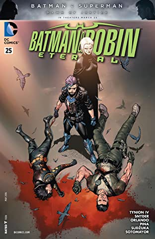 Batman & Robin Eternal (2015-2016) #25