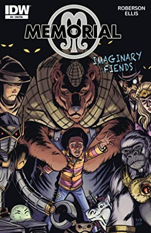 Memorial: Imaginary Fiends #8 (of 9)