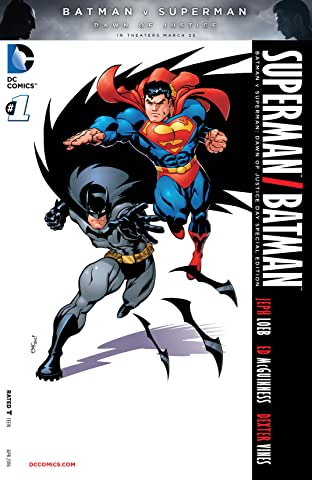 Superman/Batman: Batman v. Superman: Dawn of Justice Special Edition #1