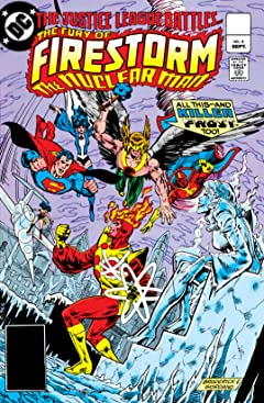 The Fury of Firestorm (1982-1990) No.4