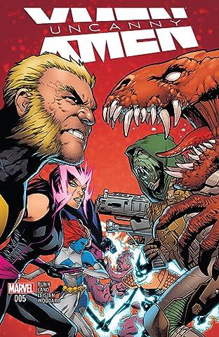Uncanny X-Men (2016-) #5