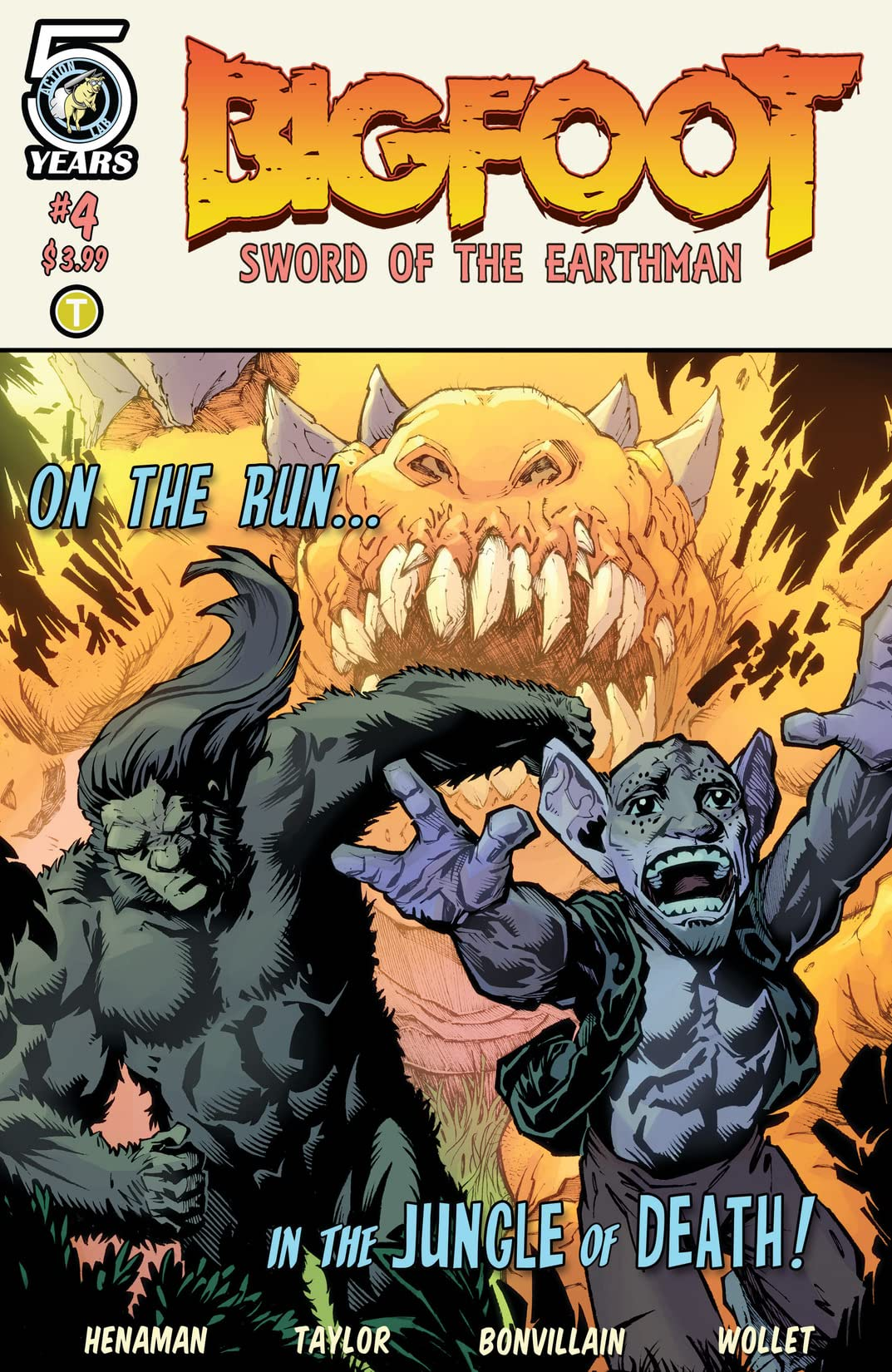 Bigfoot: Sword of the Earthman #4