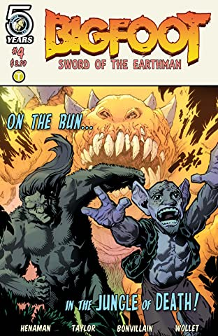 Bigfoot: Sword of the Earthman No.4