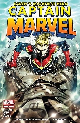 Captain Marvel (2012-2013) #8