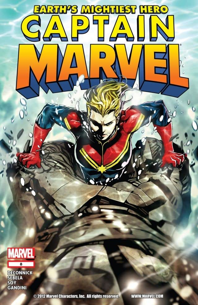 Captain Marvel (2012-2013) #8