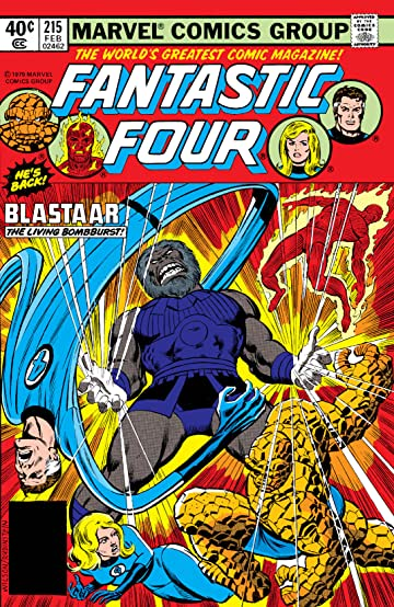 Fantastic Four (1961-1998) #215