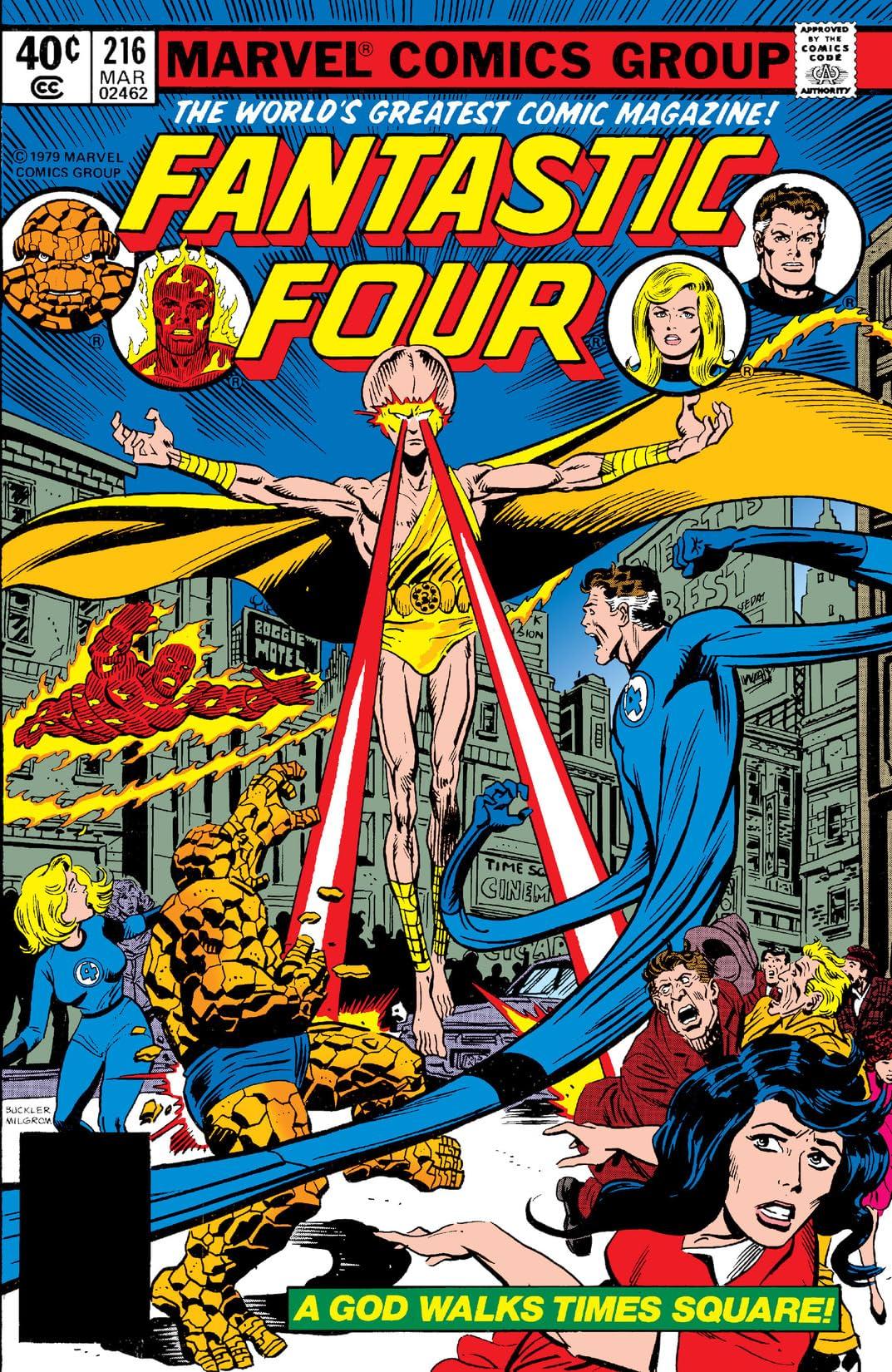 Fantastic Four (1961-1998) #216