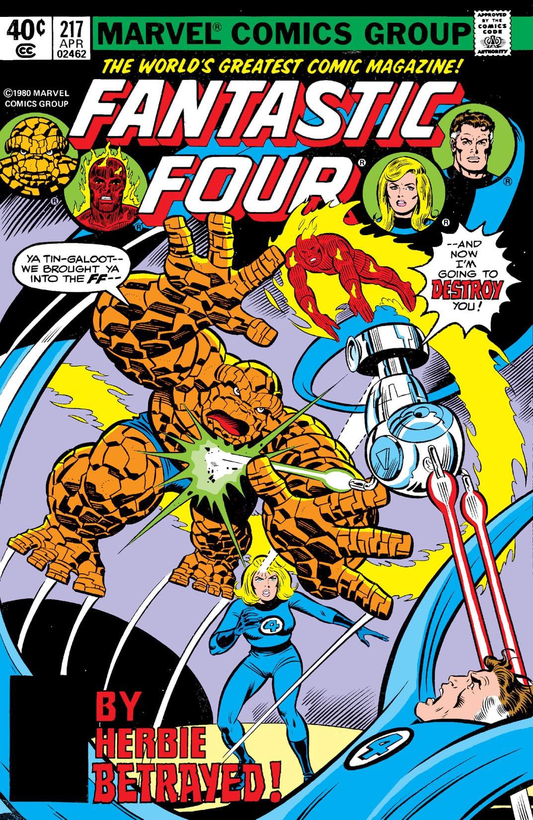 Fantastic Four (1961-1998) #217