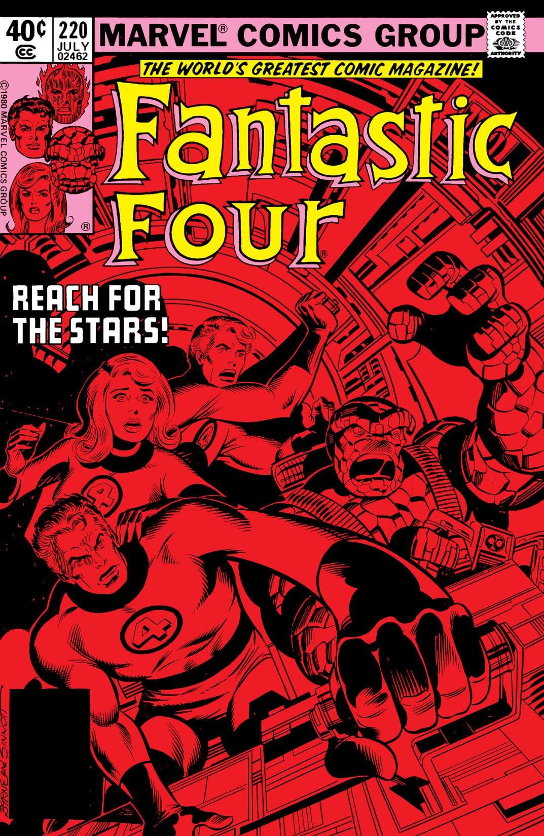 Fantastic Four (1961-1998) #220