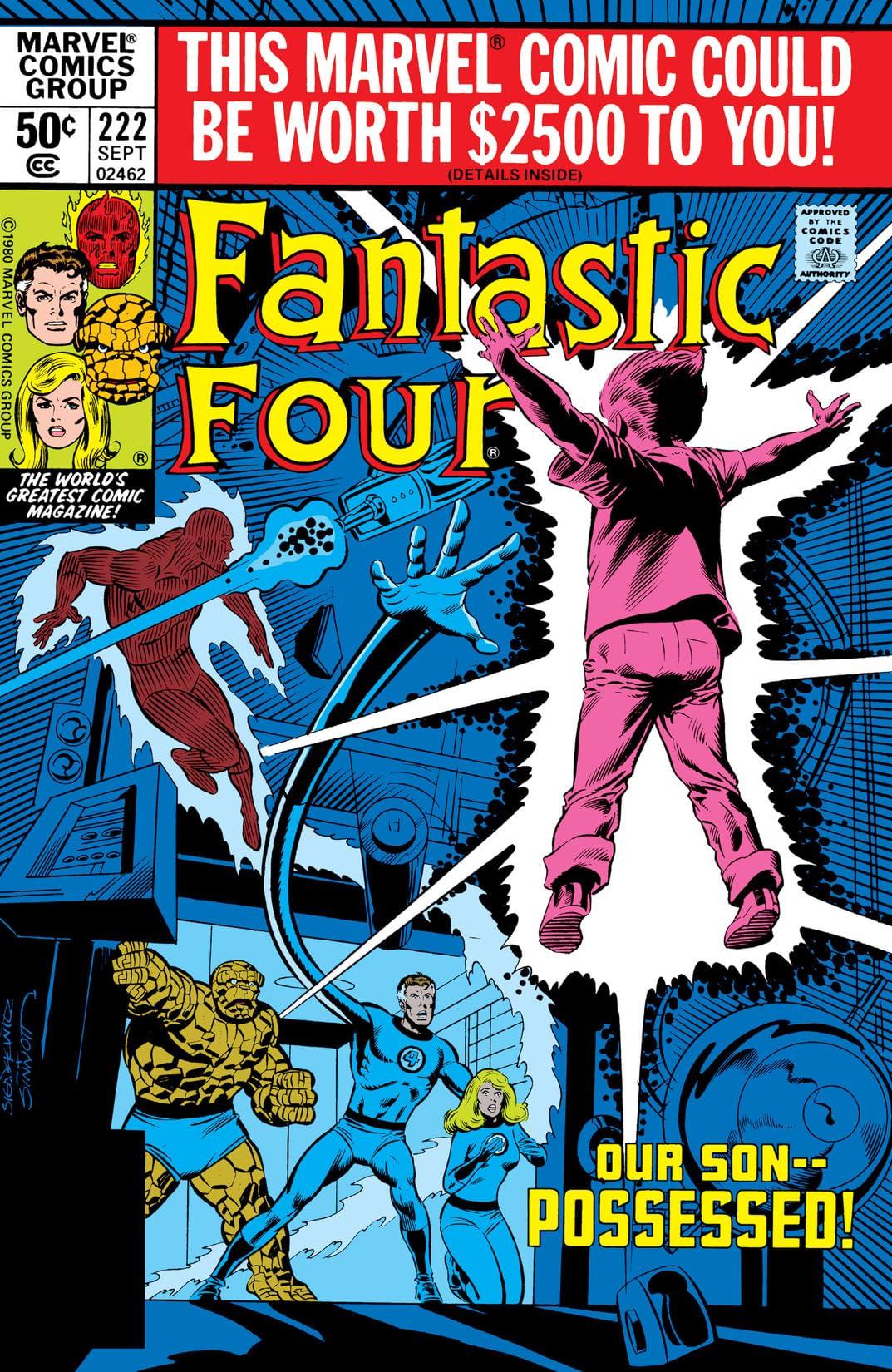 Fantastic Four (1961-1998) #222
