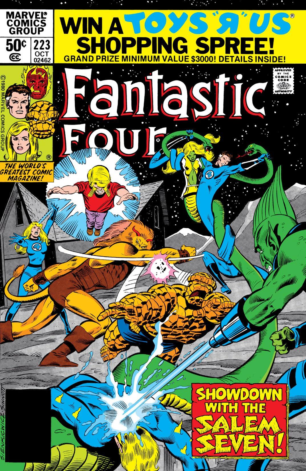 Fantastic Four (1961-1998) #223