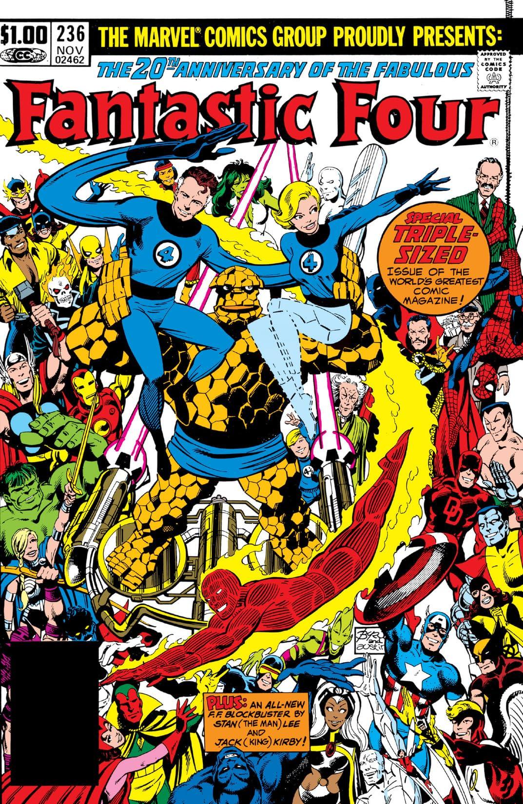 Fantastic Four (1961-1998) #236