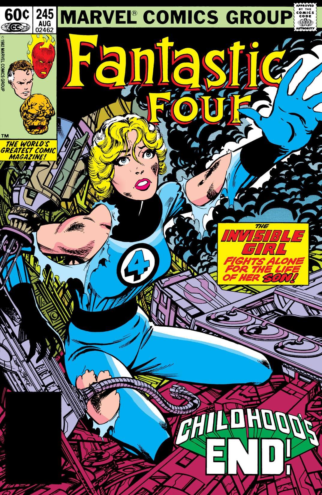 Fantastic Four (1961-1998) #245