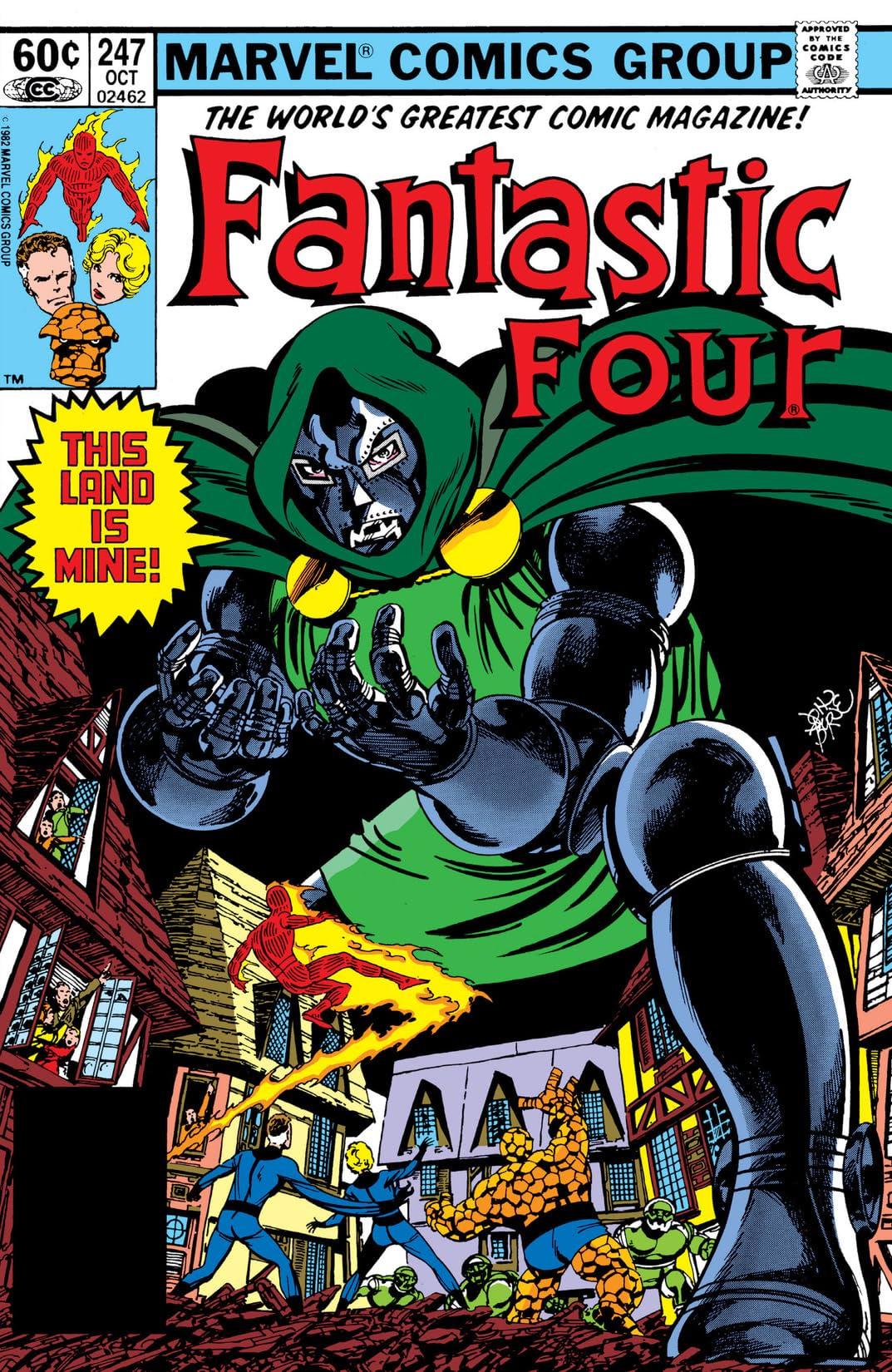 Fantastic Four (1961-1998) #247
