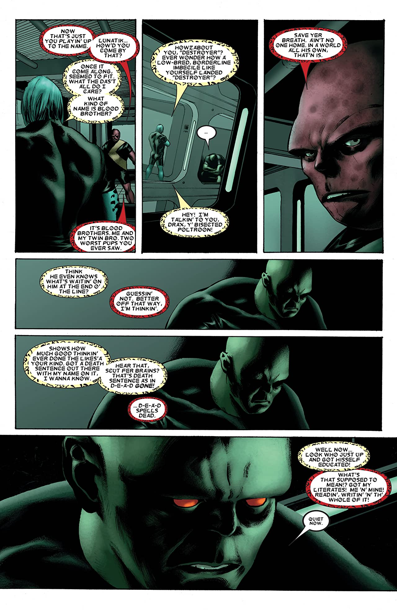Drax the Destroyer #1