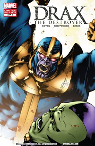 Drax The Destroyer (2005) #2