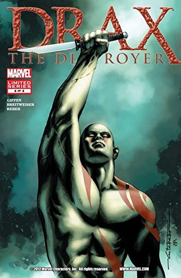 Drax the Destroyer #4