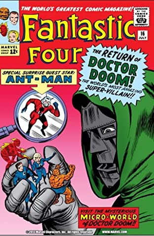 Fantastic Four (1961-1998) No.16